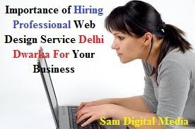 Web designing service Delhi Dwarka
