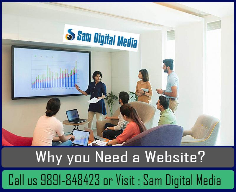 Website designing company in Dwark Delhi