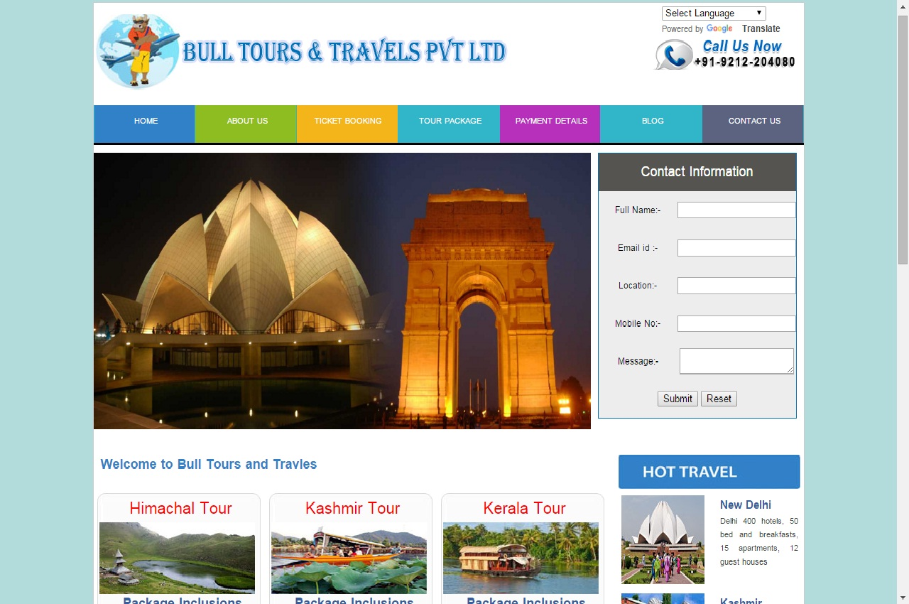 Bull Tours and Travels